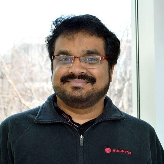 Ranganathan Chandrasekaran, Director, Graduate Studies for MS in MIS, Department of Information and Decision Sciences