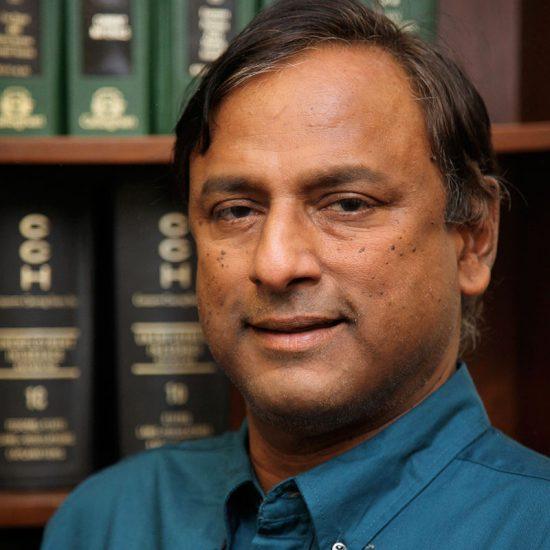 Ram Ramakrishnan, Professor and Director of Master of Science in Accounting (MSA) Graduate Studies, Department of Accounting