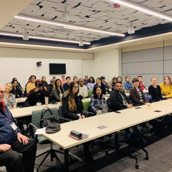 UIC Business Undergraduate Women's Network Visits Google Chicago